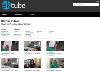 EKTube screenshot