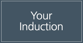Find out about your induction